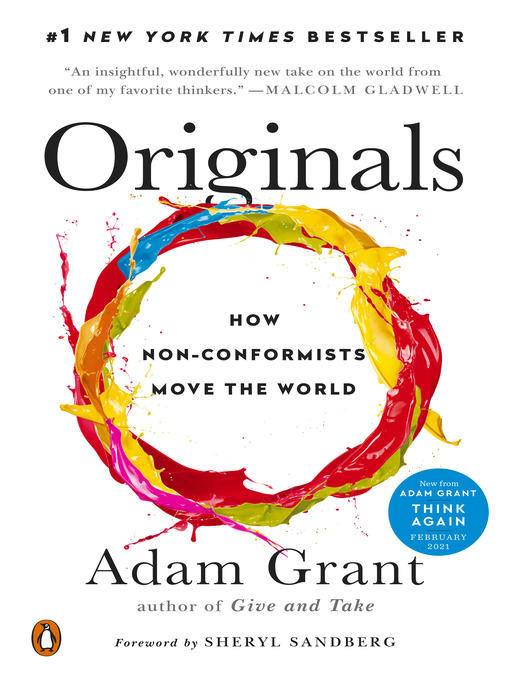 Title details for Originals by Adam Grant - Wait list